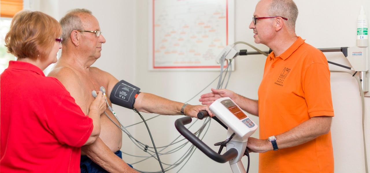 Fahrrad-EKG